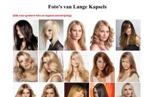 Lange kapsels   Kapsels voor lang haar